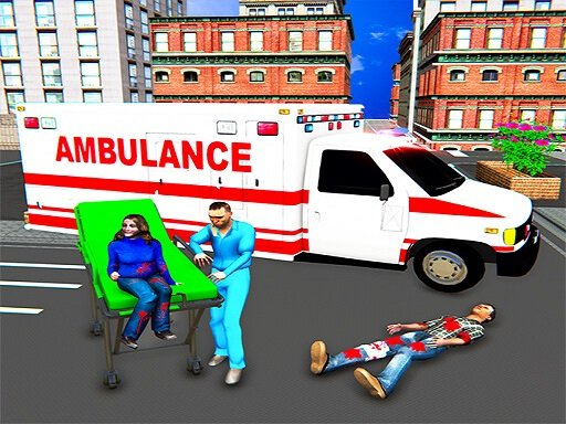 Play City Ambulance Rescue Simulator Online