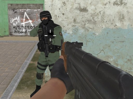 Play Commando FPS Online