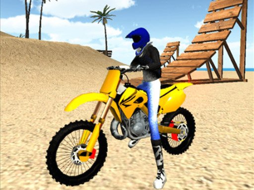 Play Beach Bike Stunt Online