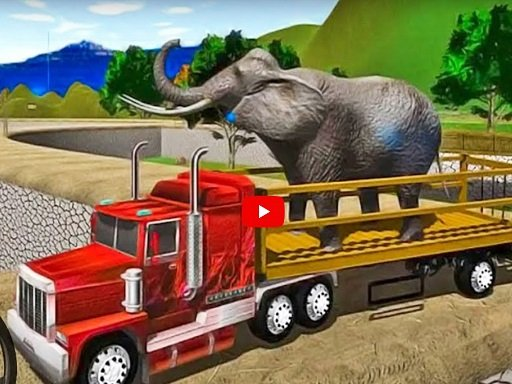 Play Animal Simulator Truck Transport 2020 Online