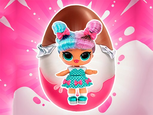 Play Baby Dolls: Surprise Eggs Opening Online